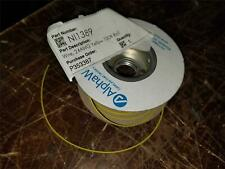 1000' Roll ALPHA Wire Spool Roll 24 AWG (7/32)  HOOK  UP WIRE YELLOW
