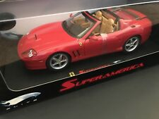 Ferrari Superamerica Elite RED 1:18 BY HOT WHEELS ELITE HTF