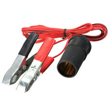 12V DC Battery Cigarette Lighter Power Plug Adapter Car Boat Socket CLIP ON New