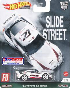 ****PRE-ORDER**** Hot Wheels Car Culture Slide Street '20 Toyota GR Supra