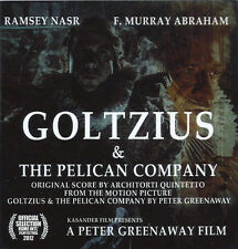 CD ARCHITORTI Goltzius & The Pelican Company OST (2014) Peter Greenaway NEW!