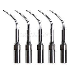 5 Dental Piezo Ultrasonic Scaler Tip Fit DTE Satelec Handpiece GD4 USA STOCK