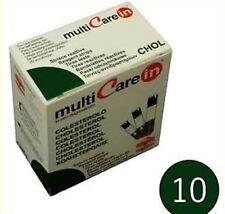 MULTICARE IN COLESTEROLO 10 STRISCE REATTIVE PER GLUCOMETRO MULTICARE IN