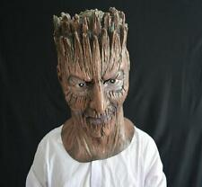 Superhero Terror Tree monster Groot mask Latex Head Prop Guardians Costume Party