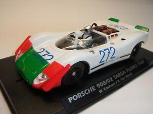 Fly Porsche 908/02 Targa Florio #272 1969 F. Pour Autorennbahn 1:3 2 Slotcar