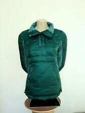 Women's Lululemon Down For A Run Pullover Forage Teal Size 4 800 Fill Down $168
