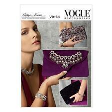 Vogue craft sewing pattern vogoue accessoires kathryn brenne pochette V9164