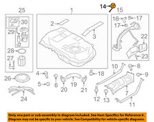 MITSUBISHI OEM 05-12 Eclipse 2.4L-L4 Fuel System-Fuel Filler Hose 1711A004