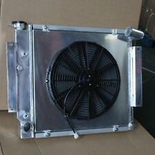 Fit International Scout Ii Truck Pickup 70-81 3Row Aluminum Radiator+Fan Shroud