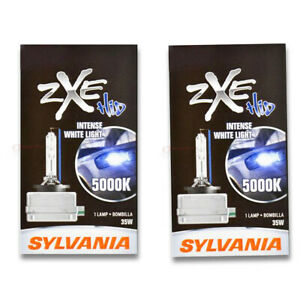 Sylvania SilverStar zXe Low Beam Headlight Bulb for Lincoln Town Car vl