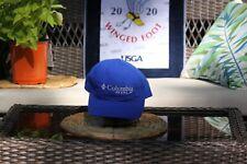 Columbia Blue Golf Hat - Free Masters BM w/ Purch