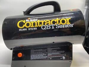 Mr. Heater Contractor Series MHQ38FA 38000 BTU Forced Air Propane Heater