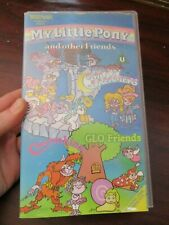 My Little Pony and other Friends Moondreamers, Glo Friends VHS Video Tape (NEW)