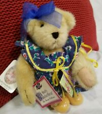 Muffy Vanderbear Mommy & Me The Teacup Collection Plush Jointed Dressed Bear 8""