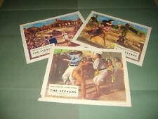 Jack Hawkins Laya Raki Noel Purcell The Seekers 1954 UK Lobby Cards