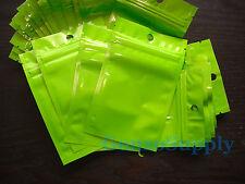 "350pc 3x5"" Green Zip Lock Mylar Bags Mylar-Food Storage Organization Mercha"