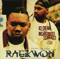 RAEKWON - ICE CREAM/INCARCERATED SCARFACES NEW VINYL RECORD