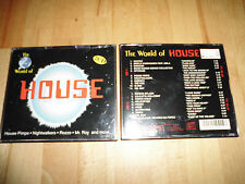 The World of House,,2 CDs,,21 Tracks,,1995,,ZYX Music