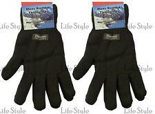 Men's Gents Warm Winter Thinsulate Lined Thermal Insulated Femme Knitted Gloves