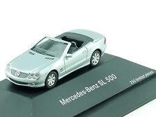 Herpa Werbemodell MB Mercedes SL 500 R 230 Cabrio nur 250 Stk! PC OVP 1411-17-17