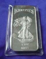 Vintage Rare! Rarities Mint 5 Troy oz .999 Silver Bar