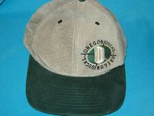 RARE VINTAGE NCAA OREGON DUCKS STRAP BUCKLE CAP HAT - SPORTS SPECIALTIES