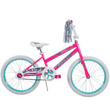 Bikes for Girls 20 inch Huffy Bicycle Single Speed Steel Frame Bar Kid