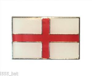 England National Flag English St Saint George's Cross Metal Enamel Badge 19mm