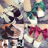 TH_ Chic Women Girl Fishnet Net Mesh Bowknot Hollow Ankle High Short Socks Soft