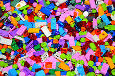 ☀️500 Small Lego Detail pieces All Girl Colors Pastel purple pink Build legos