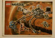 LEGO SET 7317 LIFE ON MARS AERO TUBE HANGAR INSTRUCTION MANUAL ONLY