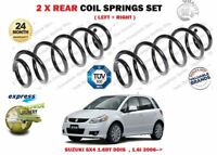 FOR SUZUKI SX4 1.6DT 1.9 2.0 DDIS 1.5 1.6i VVT 2006 > 2X REAR COIL SPRINGS SET