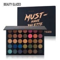 Beauty Glazed 35Colors Matte Palette Waterproof Longlasting Eye Makeup Eyeshadow