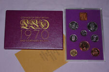 1970 ROYAL MINT PROOF SET COINS - Halfcrown to Halfpenny - Nice Example