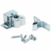 Rok Hardware Double Roller Catch with Prong for Cabinet Doors, Cabinet Latch