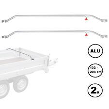 2x Trailer Flat Planning Link Aluminium Adjustable 132 - 204 cm knaufschraube