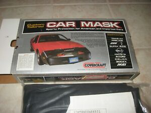 NEW Car Mask Covercraft - Front End Bra - Camaro IROC Z-28 FITS 1985-1986 ONLY