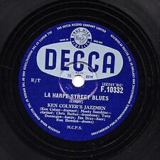 KEN COLYER'S JAZZMEN -BARBER, DONEGAN 78 LA HARPE STREET BLUES/ TOO BUSY  F10332