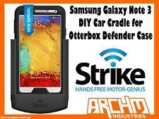 STRIKE ALPHA SAMSUNG GALAXY NOTE 3 CAR CRADLE FOR OTTERBOX DEFENDER CASE DIY
