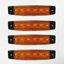 NUOVO 4x 12V LED SMD Arancio Indicatore Frecce luci lampada per VW