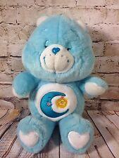 "Care Bear 12"" Plush Bed Time Bear Blue Star Moon"
