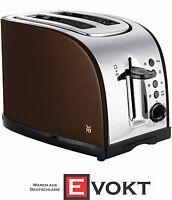 WMF TERRA toaster stainless steel / metallic-gold-brown 980 watts NEW