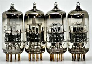e188cc tube quad philips mullard SQ preamp tubes valve gold pins 7308 cca valvo