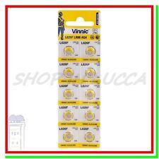 10 Batterie Pile VINNIC LR66 AG4 L626F LR626 G4 177 GP77A 377 376 SR626W SR66