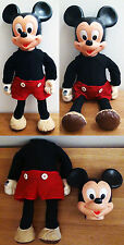 Disney / Hasbro - Marching Mickey Mouse - Poupée / Doll - Collector 1975