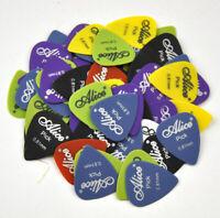 50pcs 0.58-1.5mm Alice Matte Nylon Guitar Pick Plectrum Acoustic Guitar Bass F