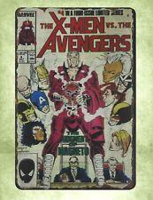 Us Seller- X-men vs Avengers tin metal sign wholesale home decor
