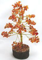 Carnelian Spiritual Gemstone Reiki Tree Feng Shui Vastu Table Home Décor Crystal