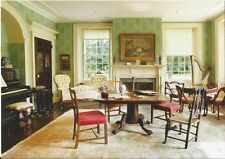 Postcard Connecticut Old Lyme Florence Griswold House Parlor Furnishings MINT