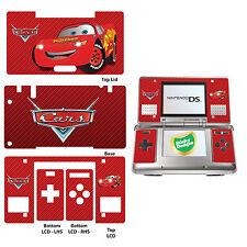 AUTO LIGHTING MCQUEEN VINILE aderente Adesivo per Nintendo Ds Originale